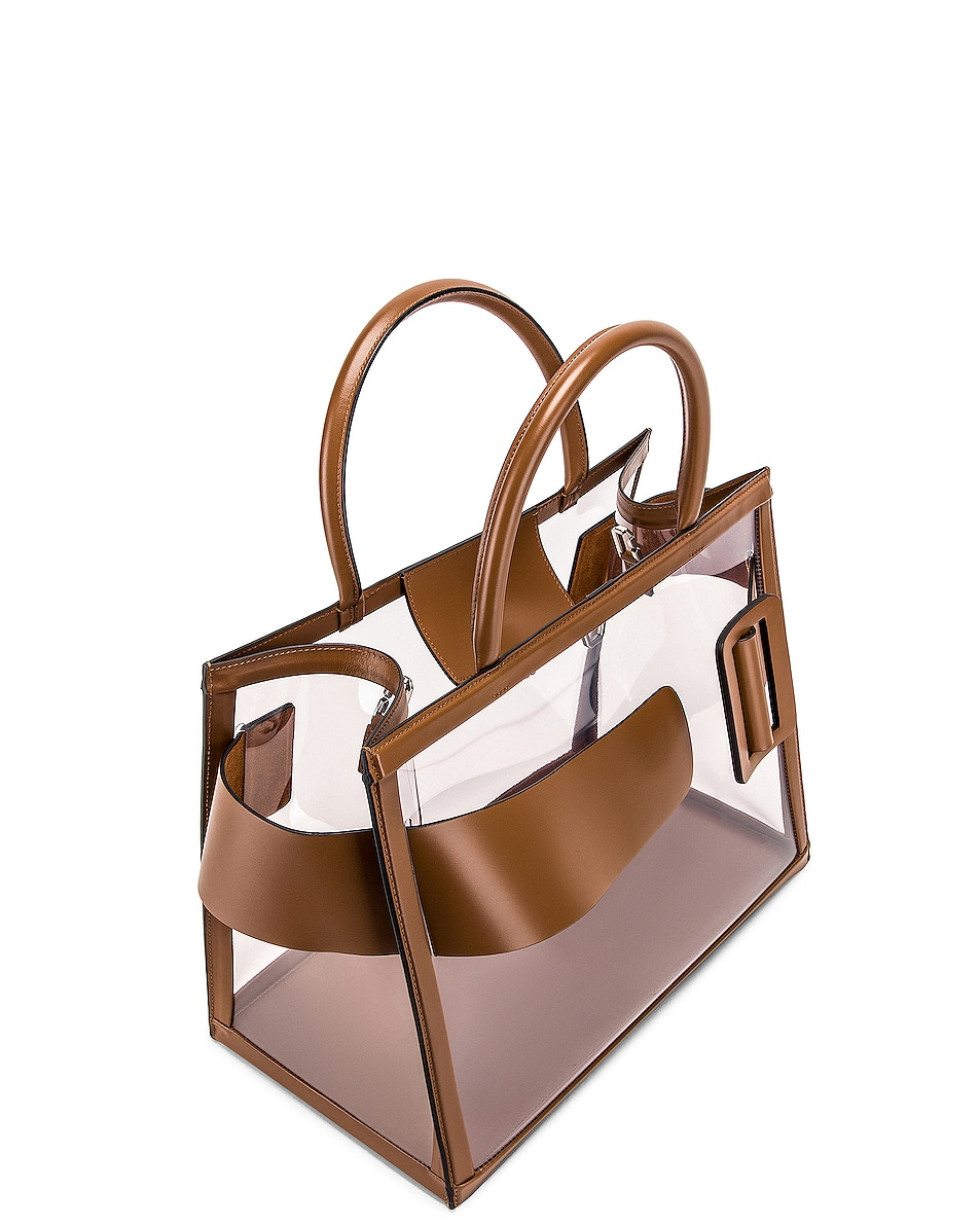 Image 5 of Boyy Bobby 38 Bag in Clear & Toffee