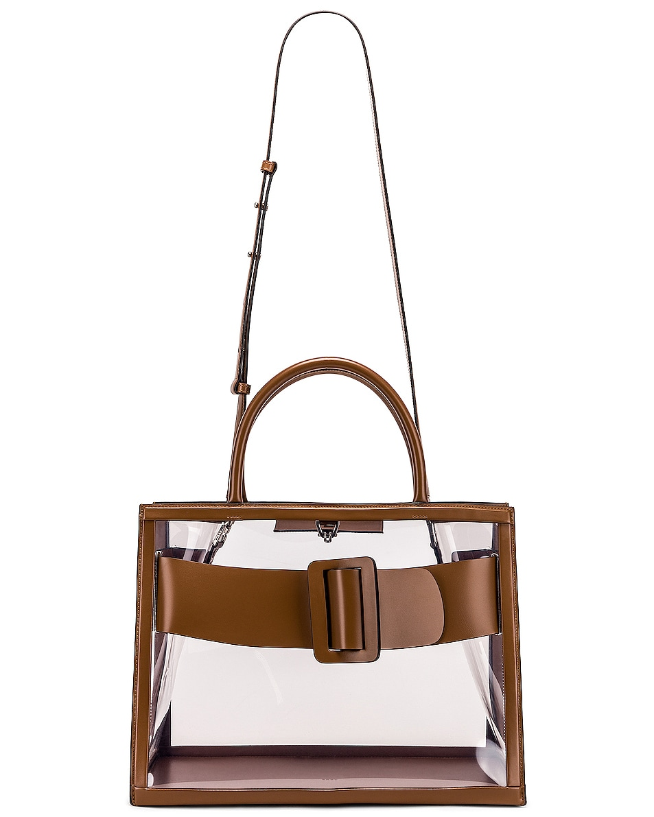 Image 6 of Boyy Bobby 38 Bag in Clear & Toffee