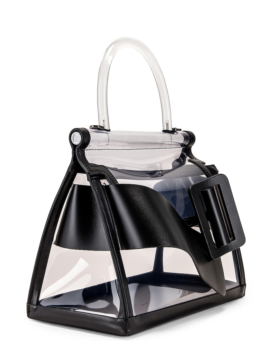 Image 4 of Boyy Karl Bag in Clear & Black