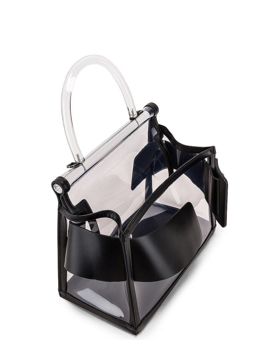 Image 5 of Boyy Karl Bag in Clear & Black