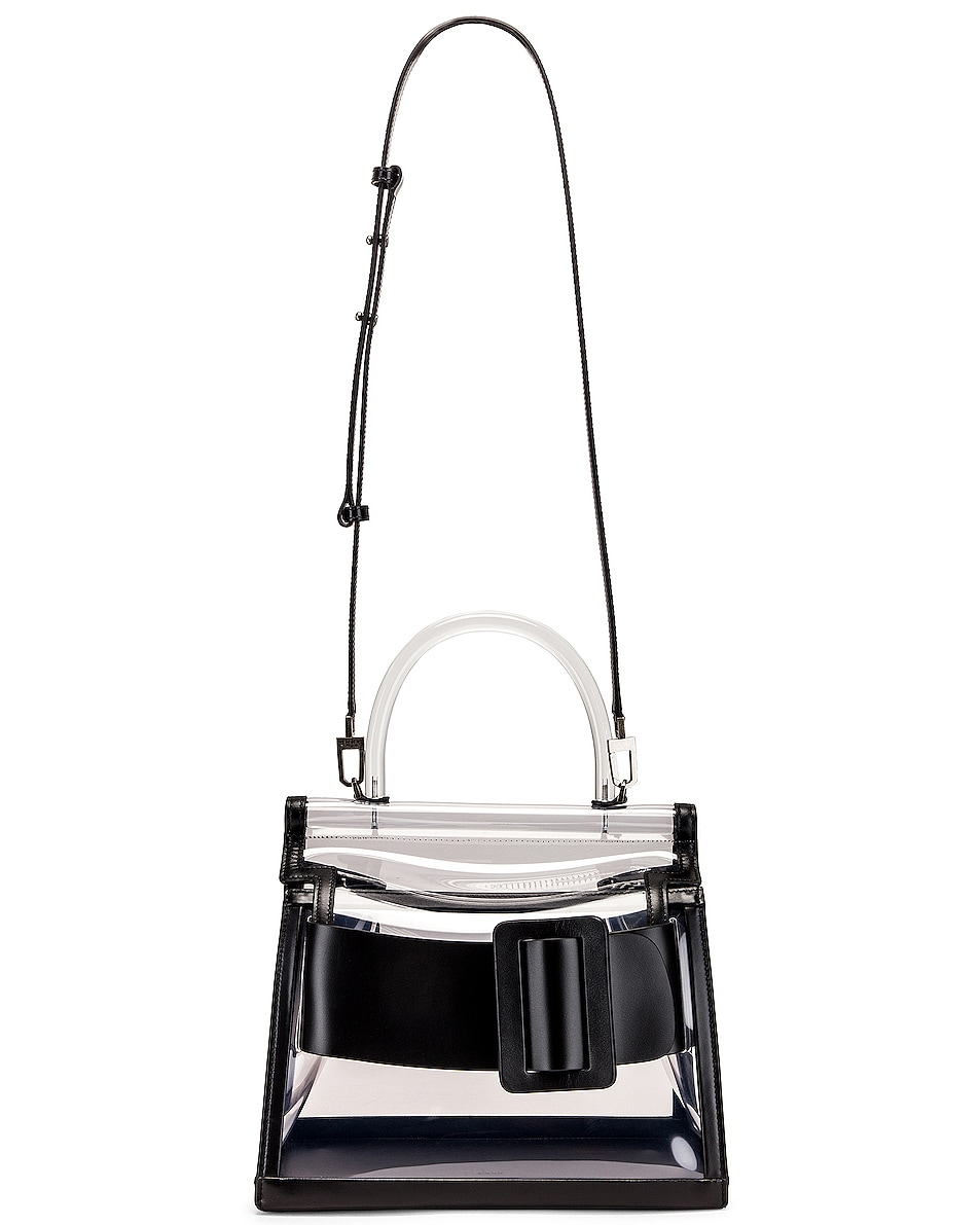 Image 6 of Boyy Karl Bag in Clear & Black