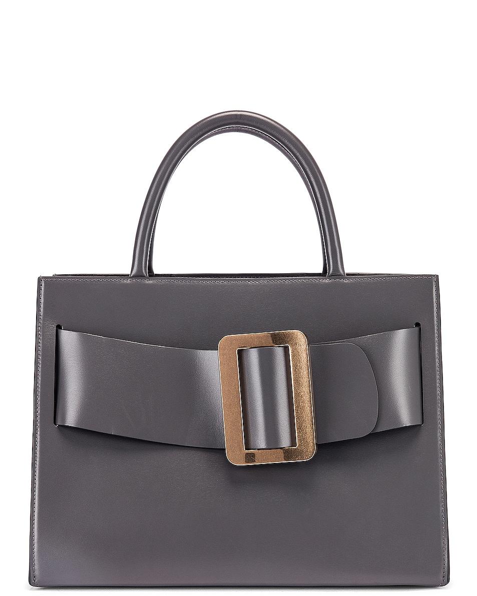 Image 1 of Boyy Bobby Gold Buckle Bag in Iron