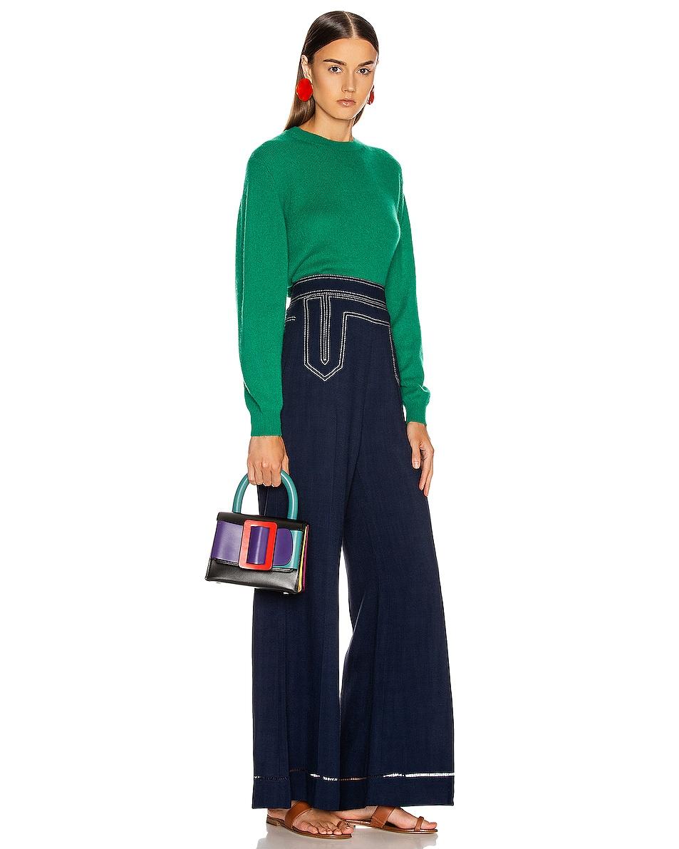 Image 2 of Boyy Lucas 19 Bag in Bright Emerald & Iris