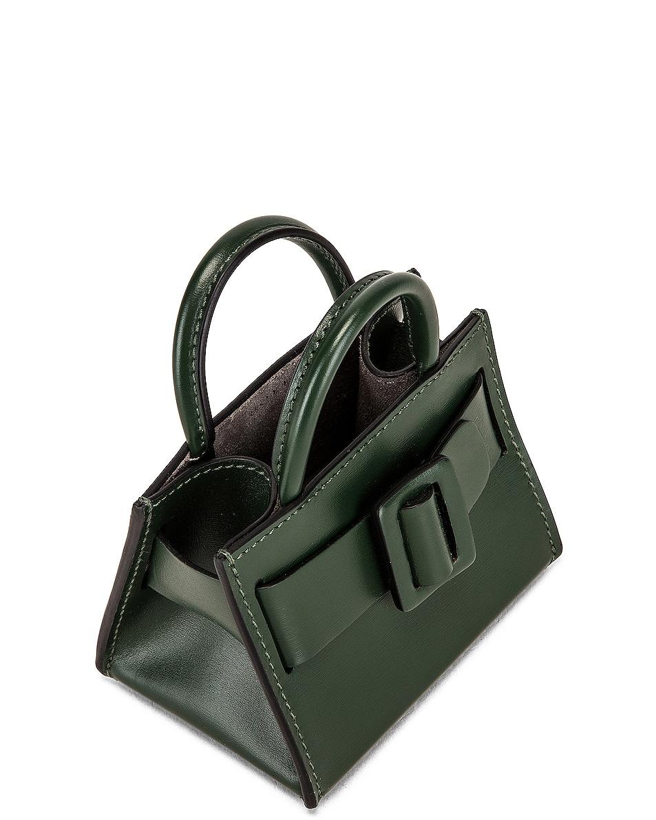 Image 5 of Boyy Bobby Charm Bag in Basil