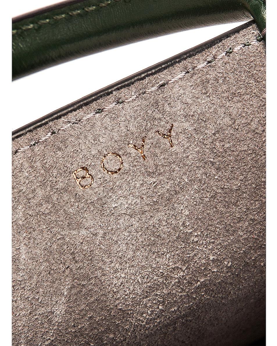 Image 7 of Boyy Bobby Charm Bag in Basil