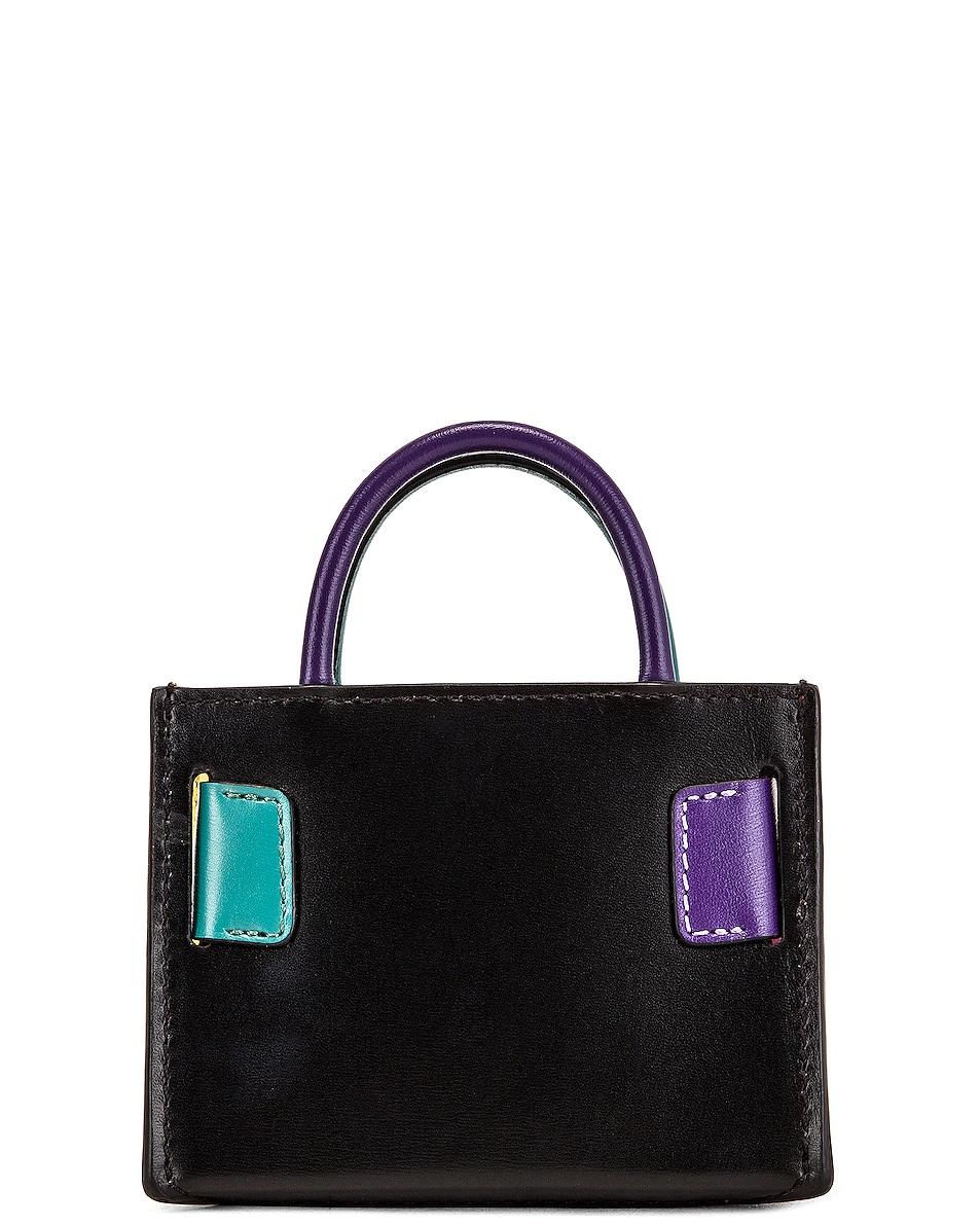 Image 3 of Boyy Bobby Charm Bag in Bright Emerald & Iris