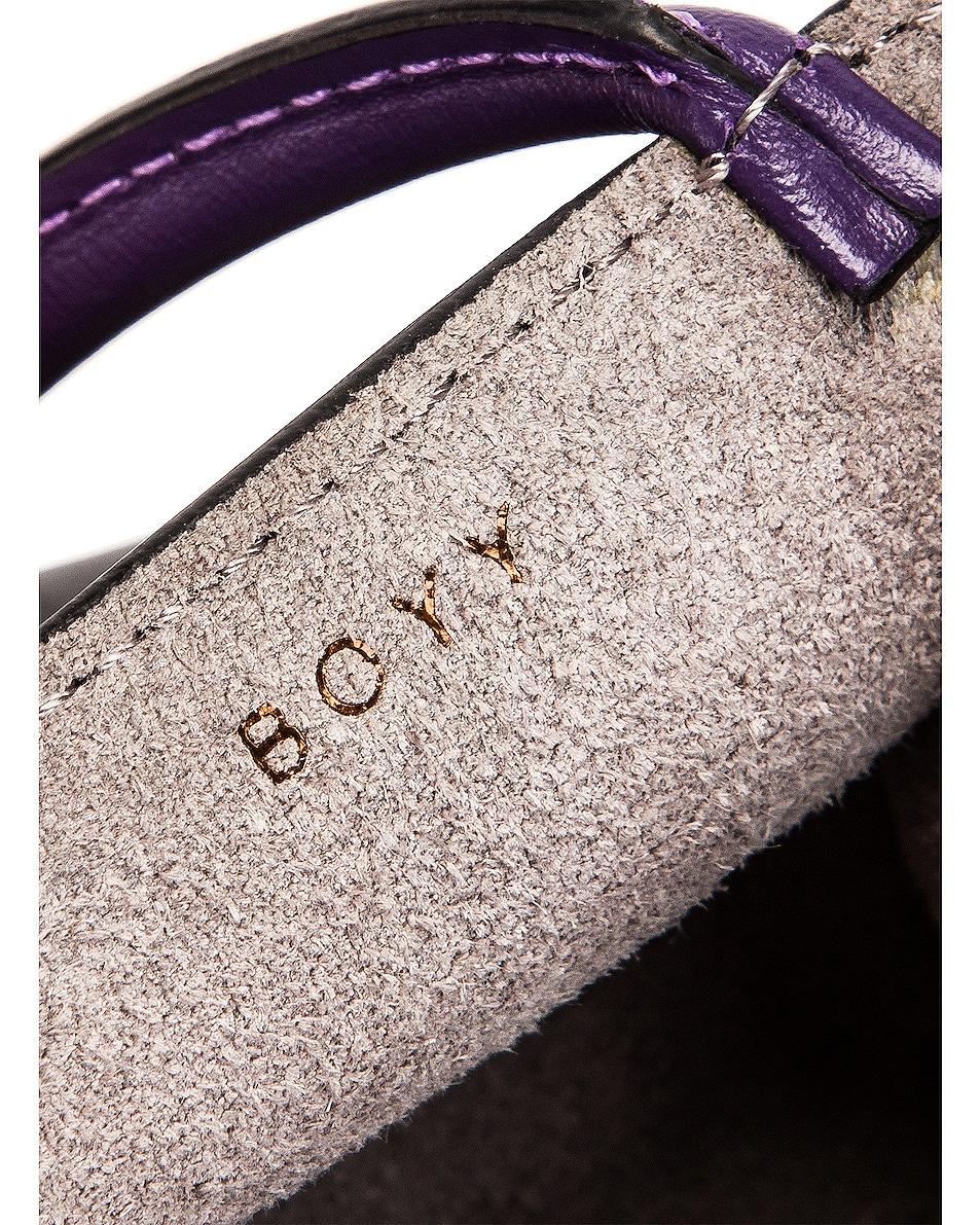 Image 7 of Boyy Bobby Charm Bag in Bright Emerald & Iris