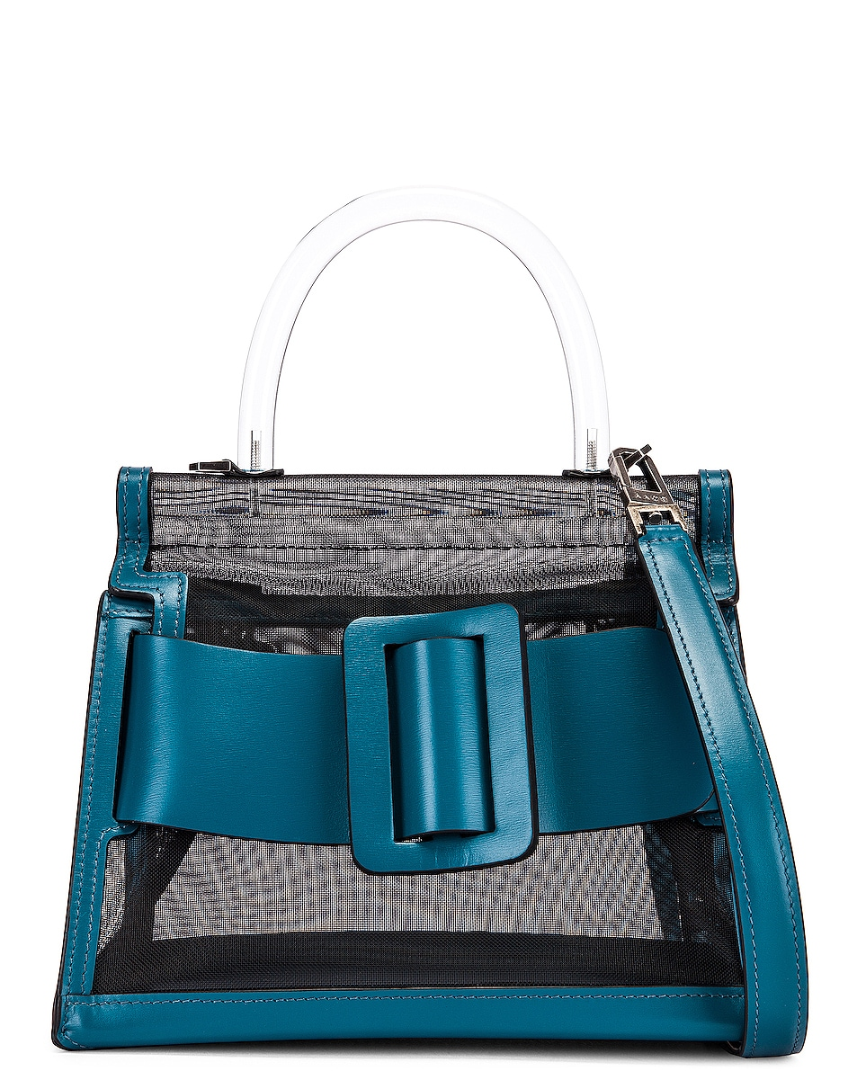 Image 1 of Boyy Karl 24 Bag in Black & Coral Blue