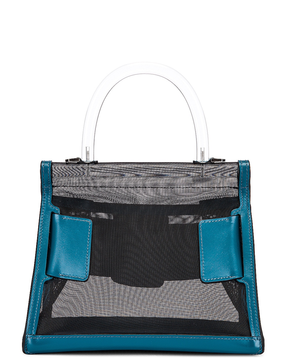 Image 3 of Boyy Karl 24 Bag in Black & Coral Blue