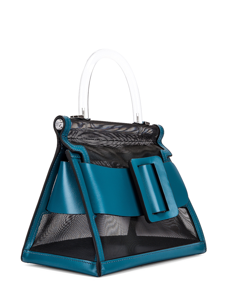 Image 4 of Boyy Karl 24 Bag in Black & Coral Blue