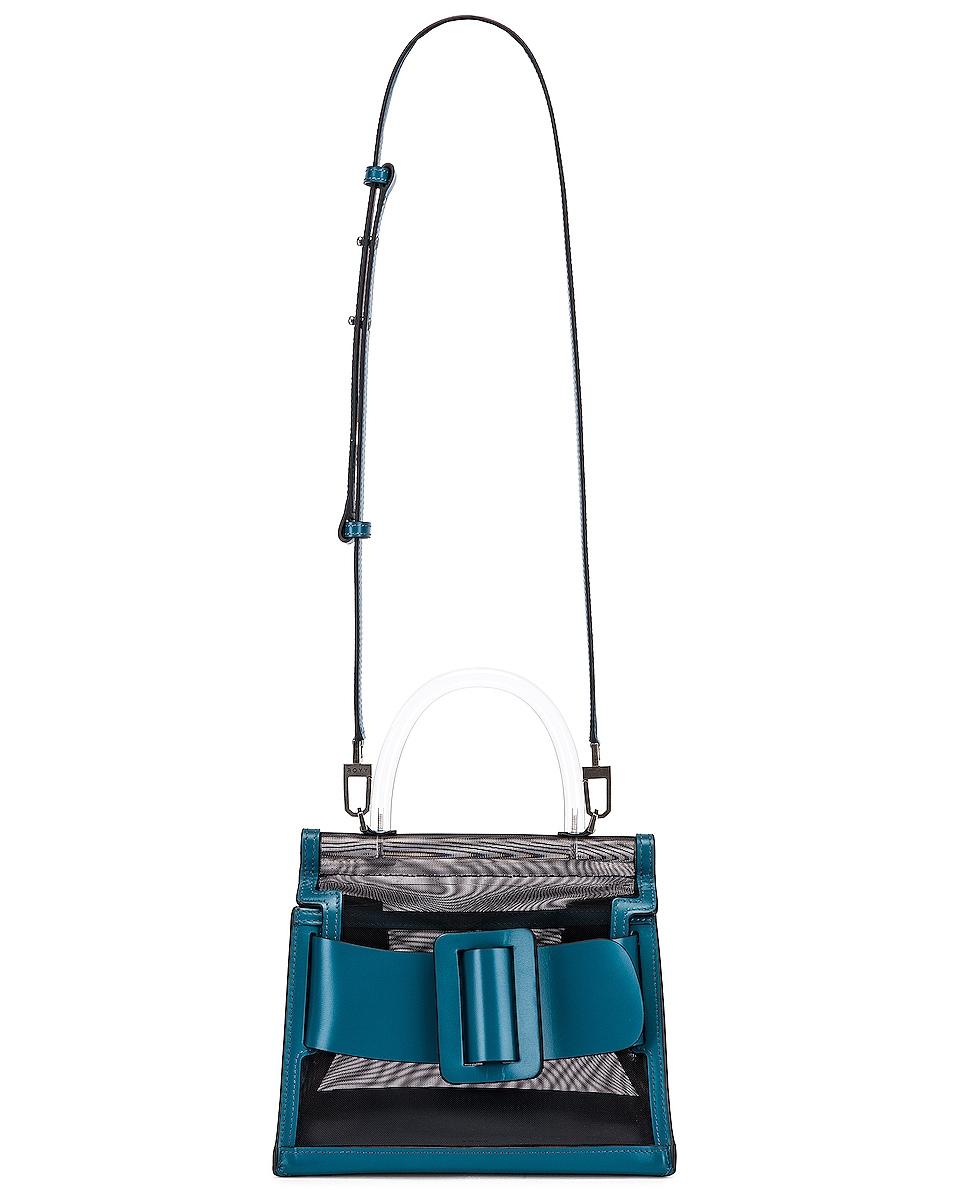 Image 6 of Boyy Karl 24 Bag in Black & Coral Blue