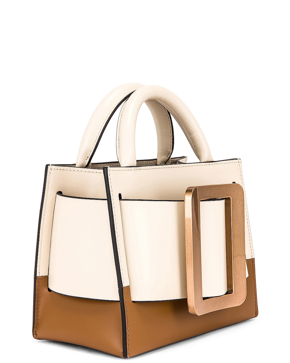 Image 4 of Boyy Bobby 18 Bag in Parchment & Tobacco