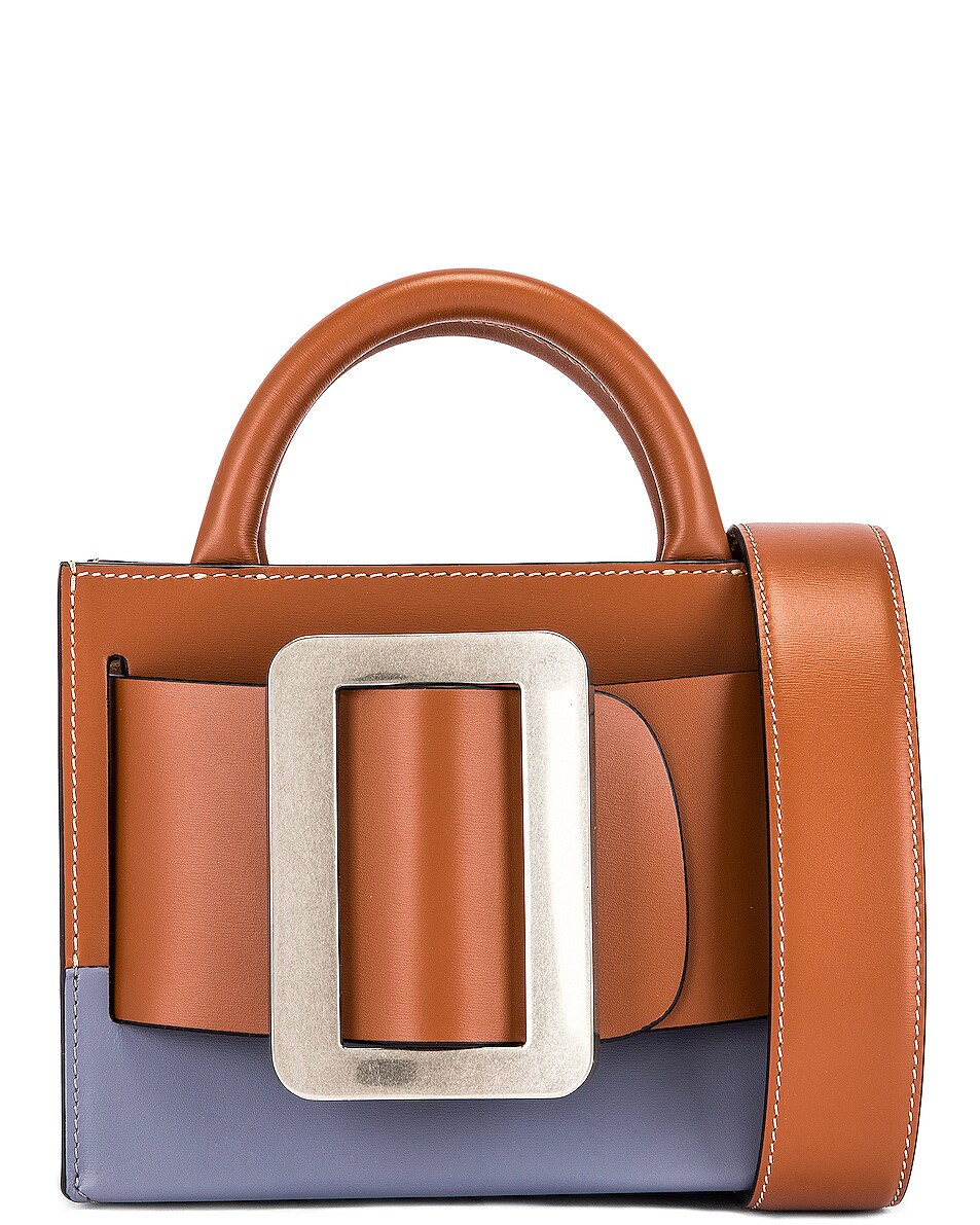 Image 1 of Boyy Bobby 18 Two-Tone Bag in Nocciola & Quicksilver