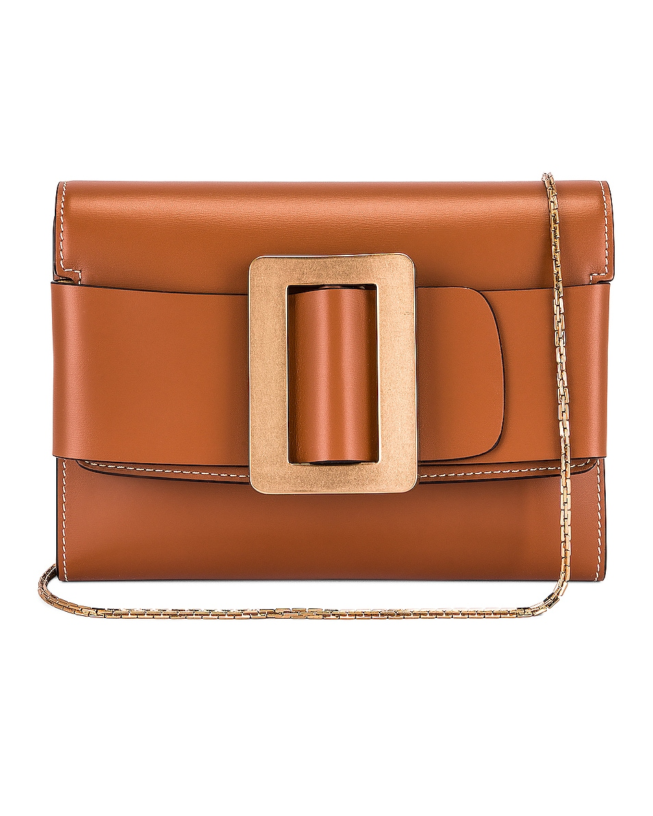 Image 1 of Boyy Buckle Travel Case in Nocciola & Gold