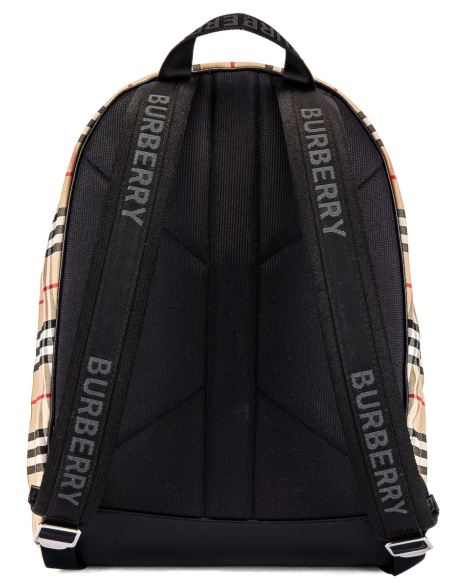 Image 2 of Burberry Jett Backpack in Archive Beige