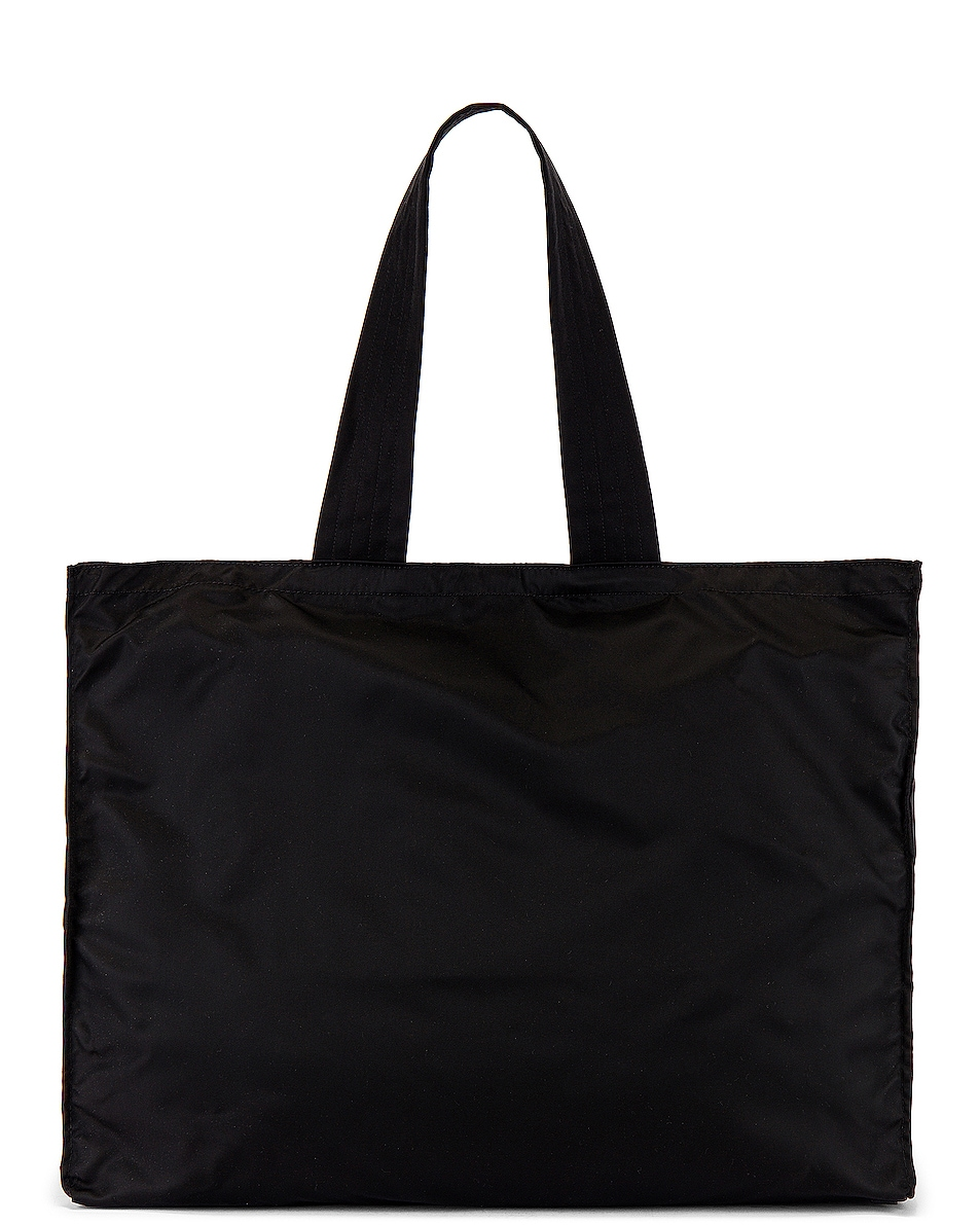Image 3 of Burberry Print Tote Bag in Black & White