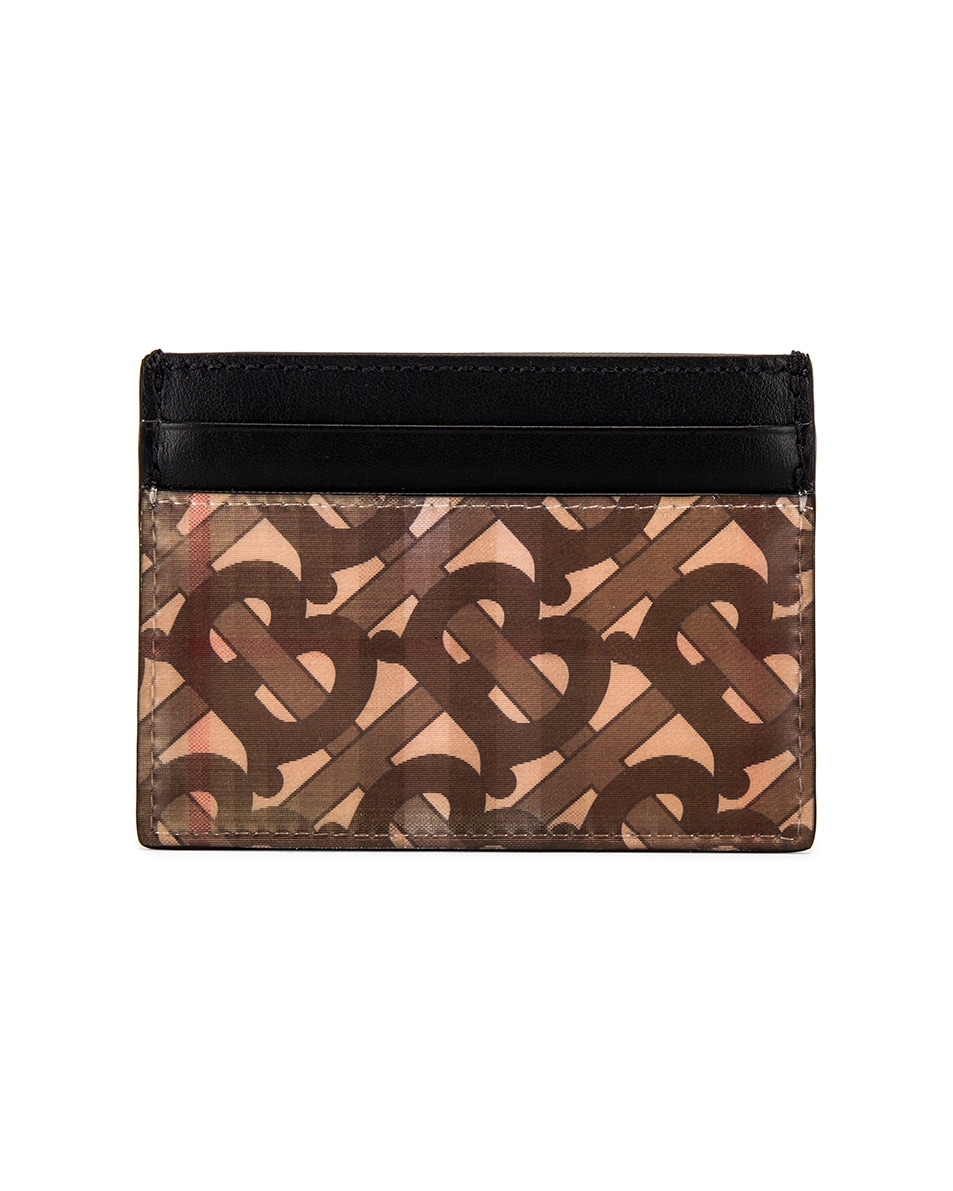 Image 1 of Burberry Hologram Card Case in Archive Beige