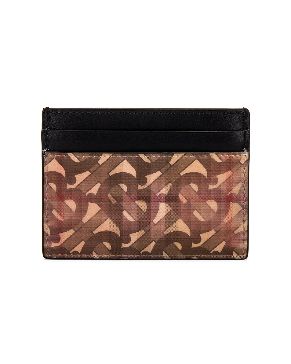 Image 2 of Burberry Hologram Card Case in Archive Beige