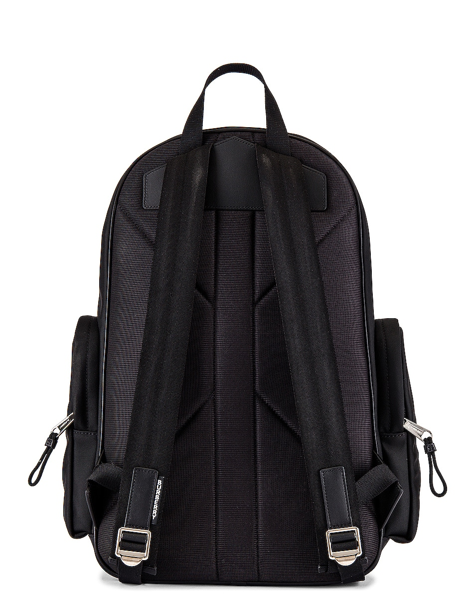 Image 2 of Burberry Large Cooper Backpack in Archive Beige