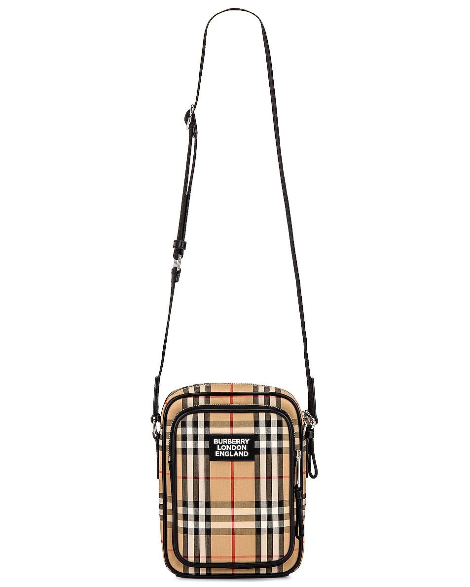 Image 1 of Burberry Freddie Vintage Crossbody Bag in Archive Beige