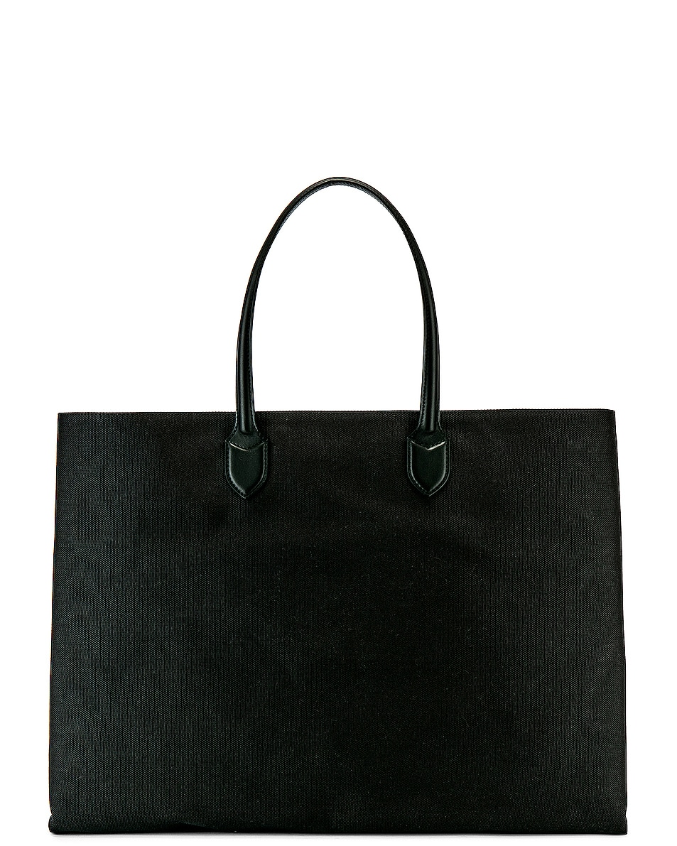 delicate Burberry Large Leather Tote Bag Black
