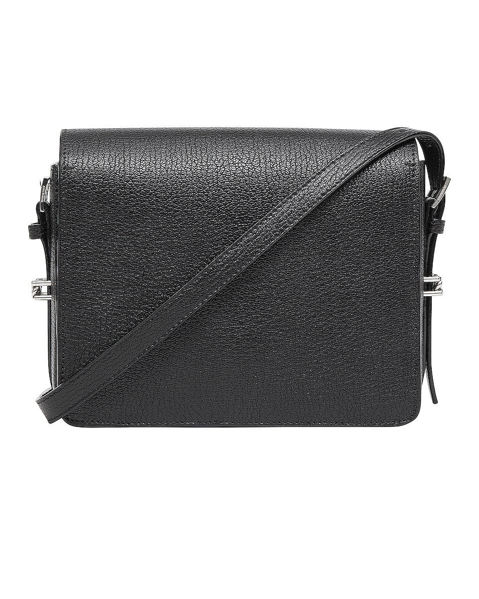 Image 2 of Burberry Small Horseferry Crossbody Bag in Black