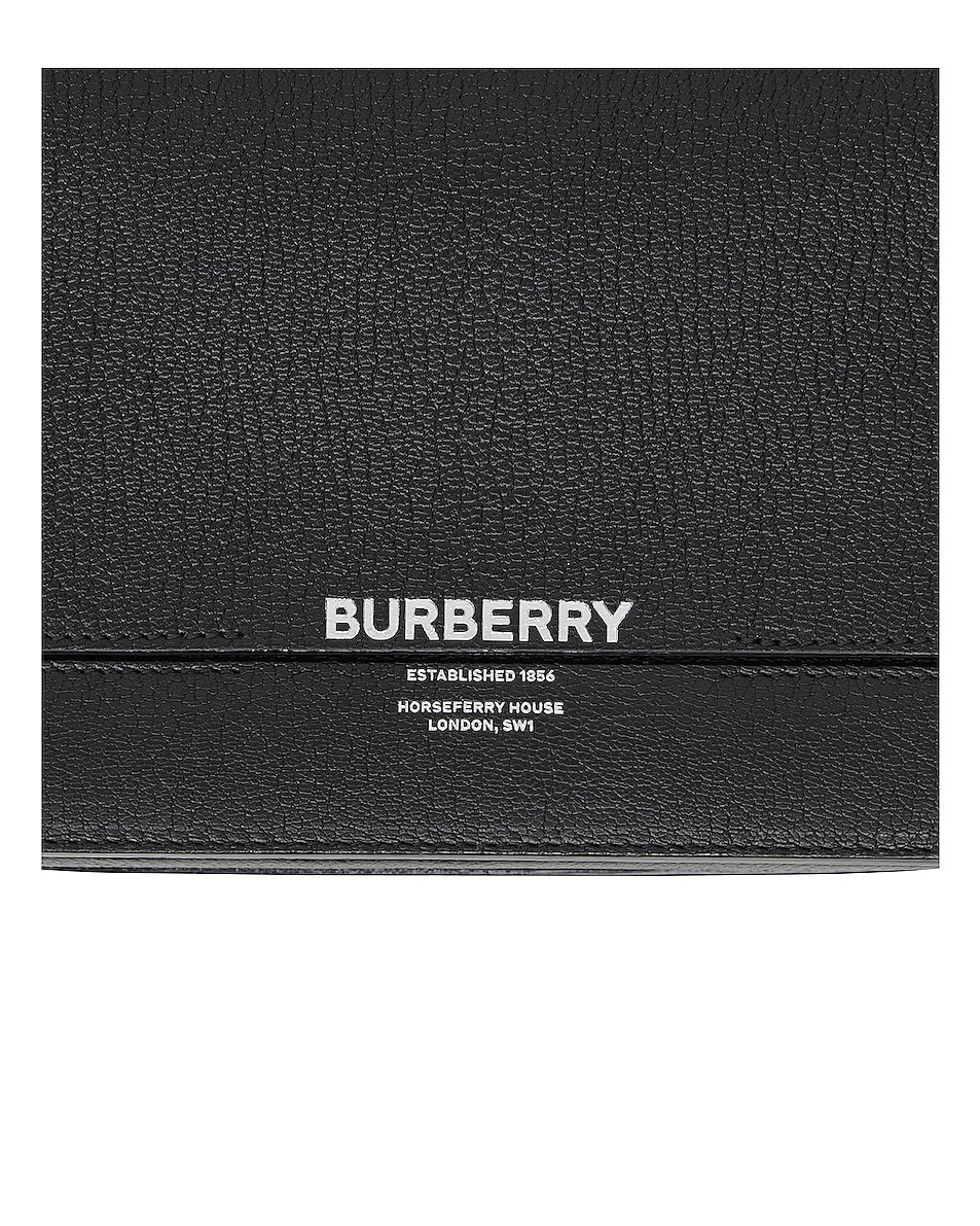 Image 5 of Burberry Small Horseferry Crossbody Bag in Black
