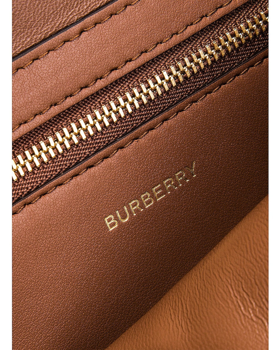 Image 7 of Burberry Medium D Ring Crossbody Bag in Archive Beige