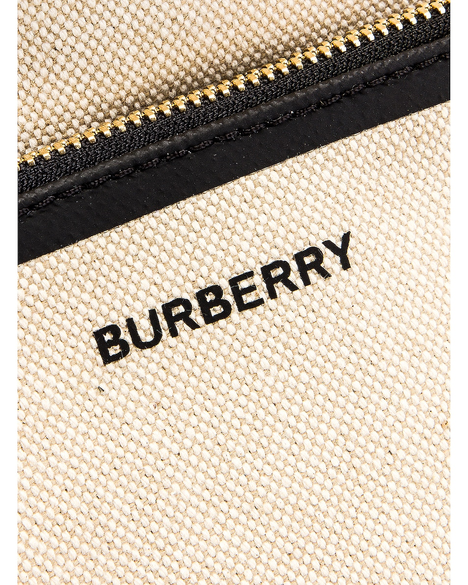 Image 6 of Burberry Soft Belt Tote in Black