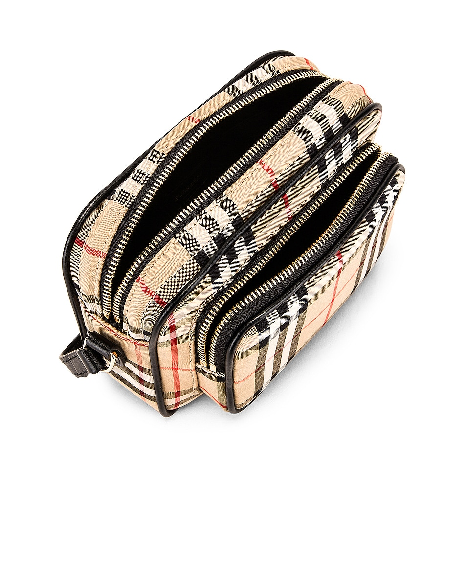 Image 5 of Burberry Small Camera Bag in Vintage Check