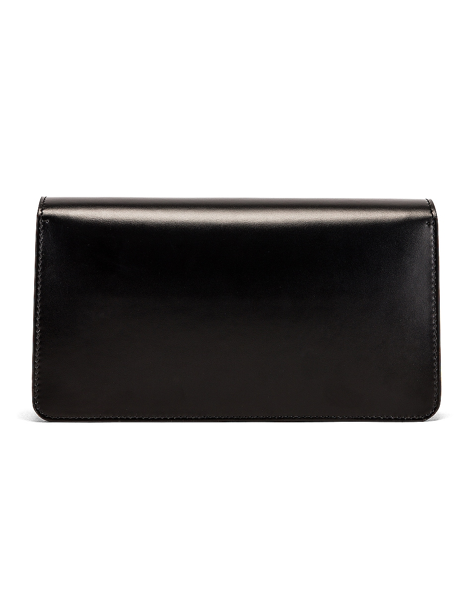 Image 3 of Burberry Horseferry Clutch in Black
