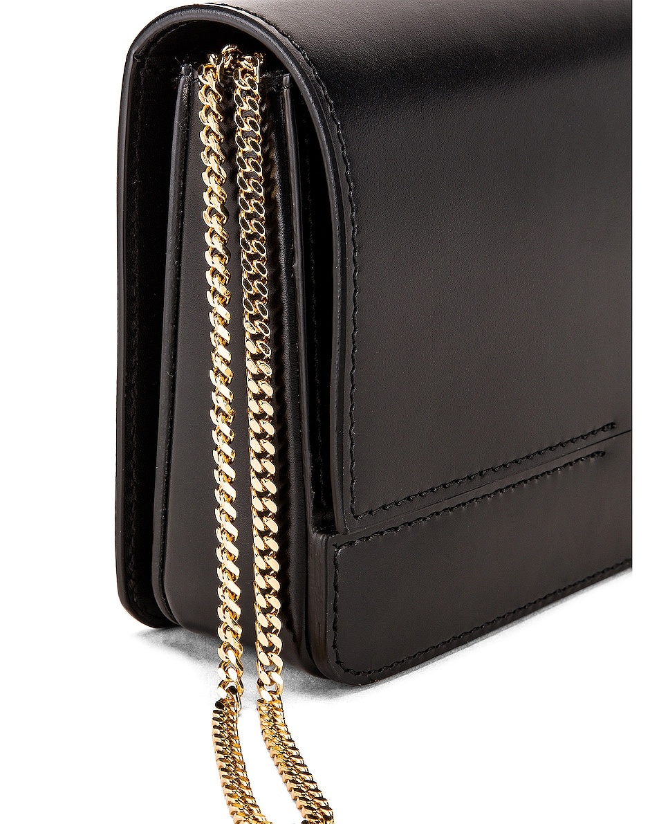Image 7 of Burberry Horseferry Clutch in Black