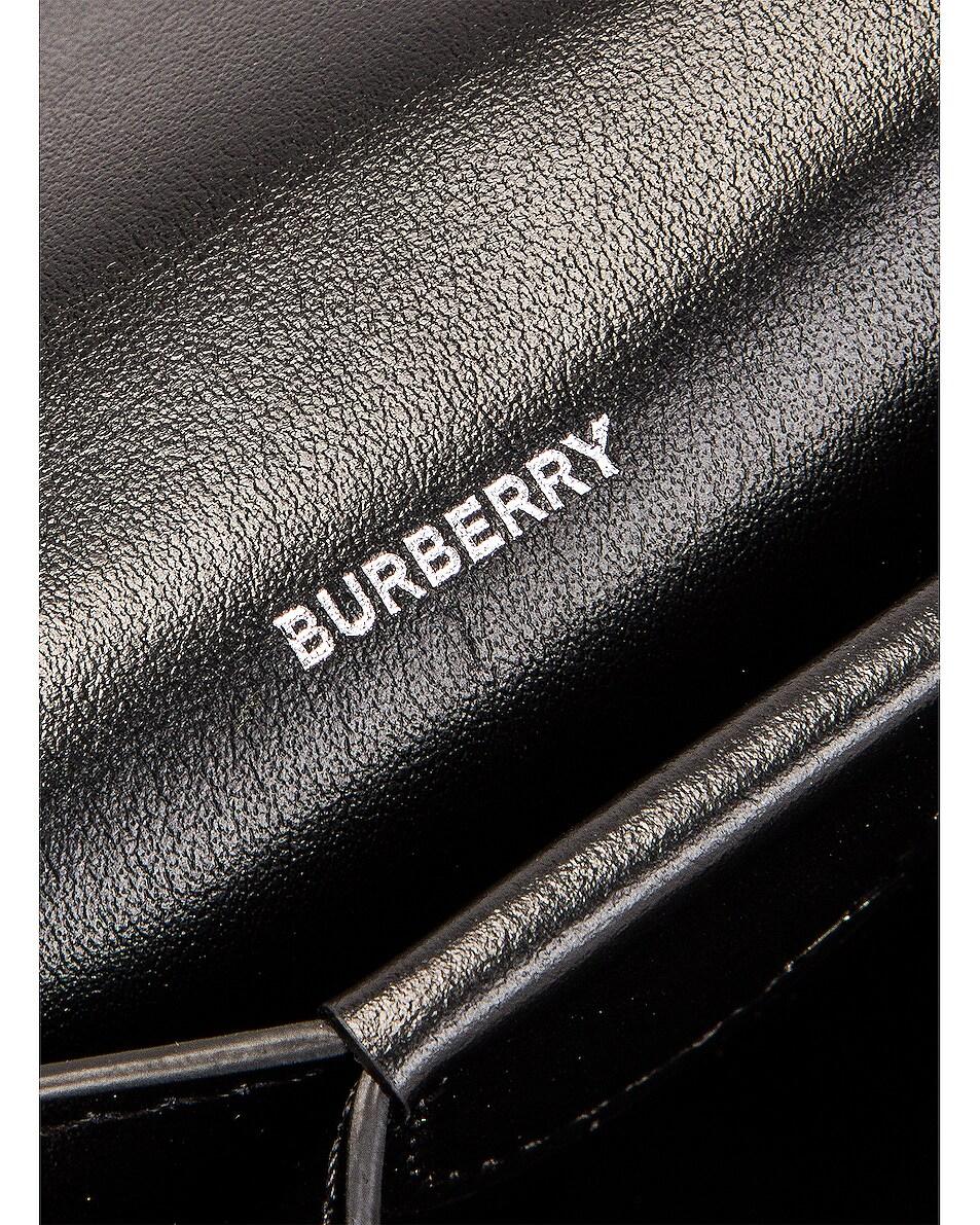 Image 7 of Burberry Jessie Card Case Crossbody Bag in Black