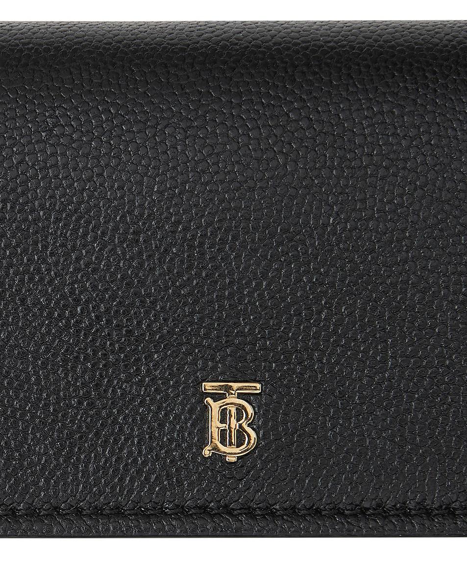 Image 6 of Burberry Jessie Card Case Crossbody Bag in Black