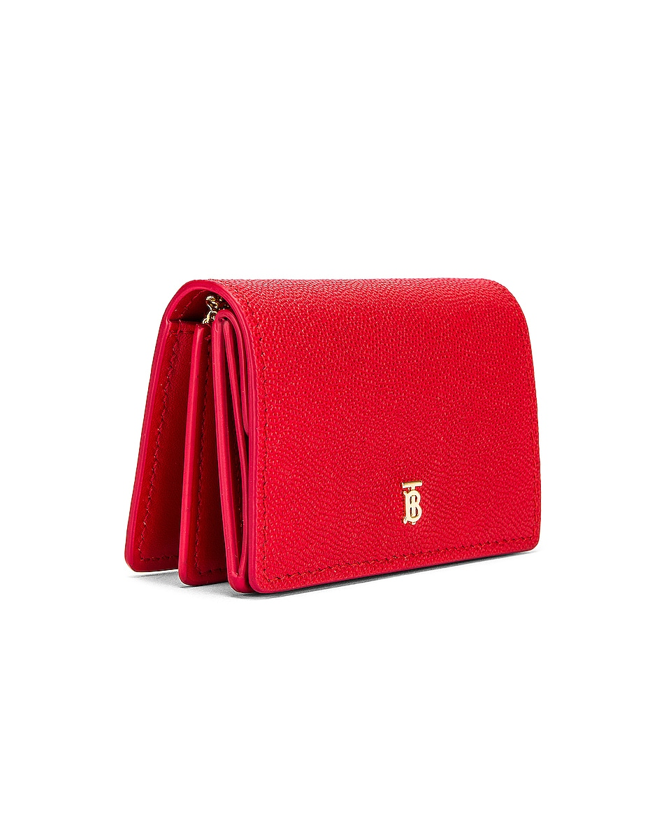 Image 4 of Burberry Jessie Card Case Crossbody Bag in Bright Red