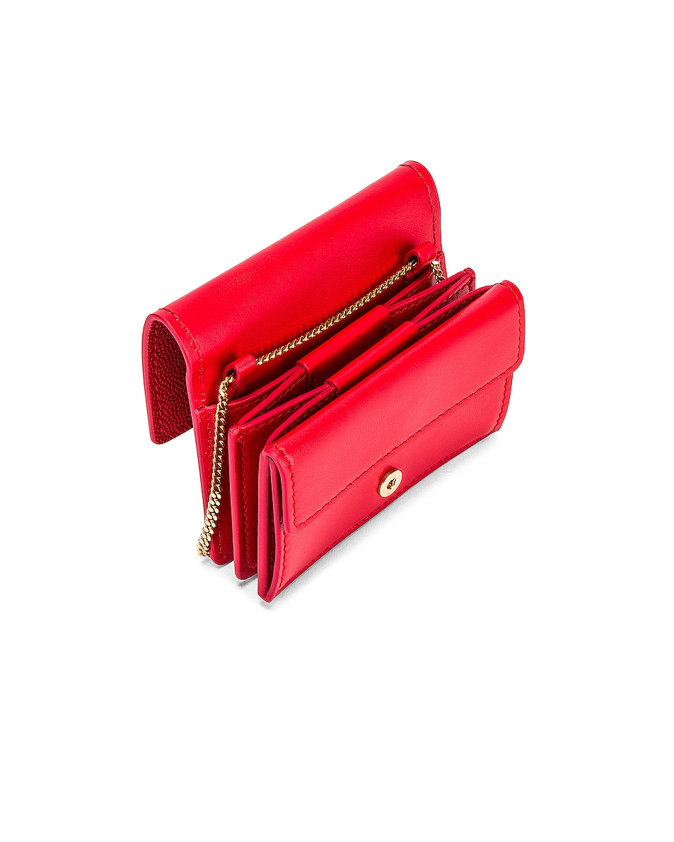 Image 5 of Burberry Jessie Card Case Crossbody Bag in Bright Red