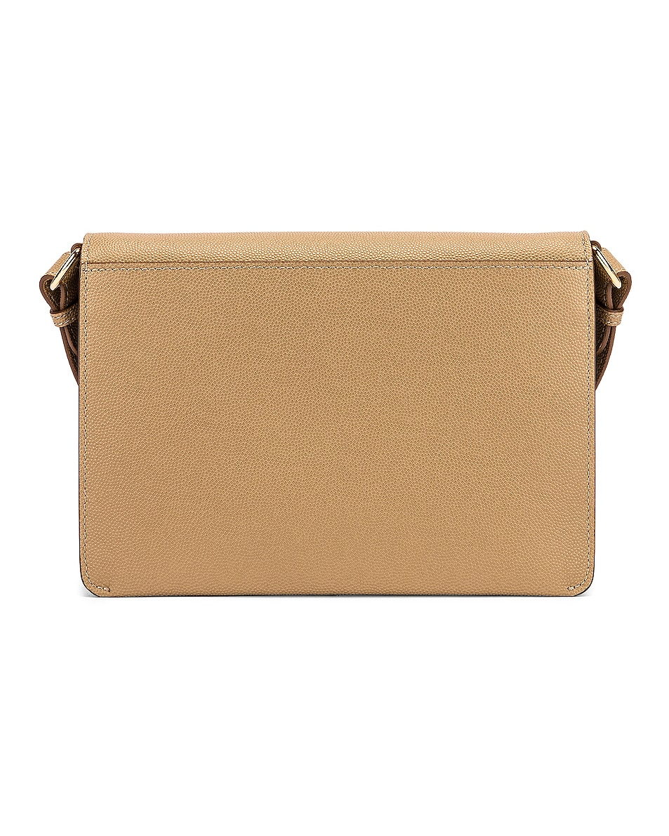 Image 2 of Burberry Albion Small Grainy Bag in Archive Beige