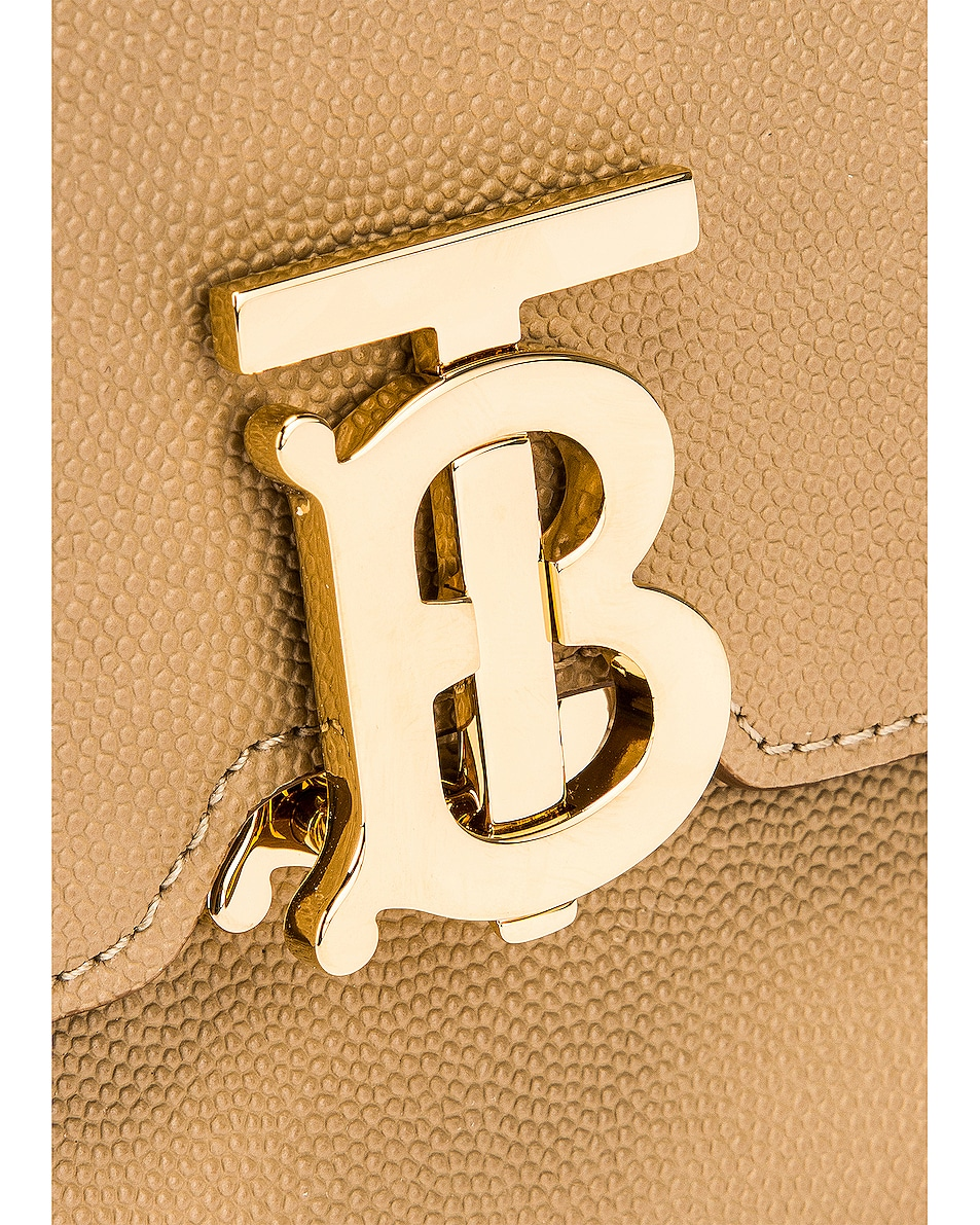 Image 7 of Burberry Albion Small Grainy Bag in Archive Beige