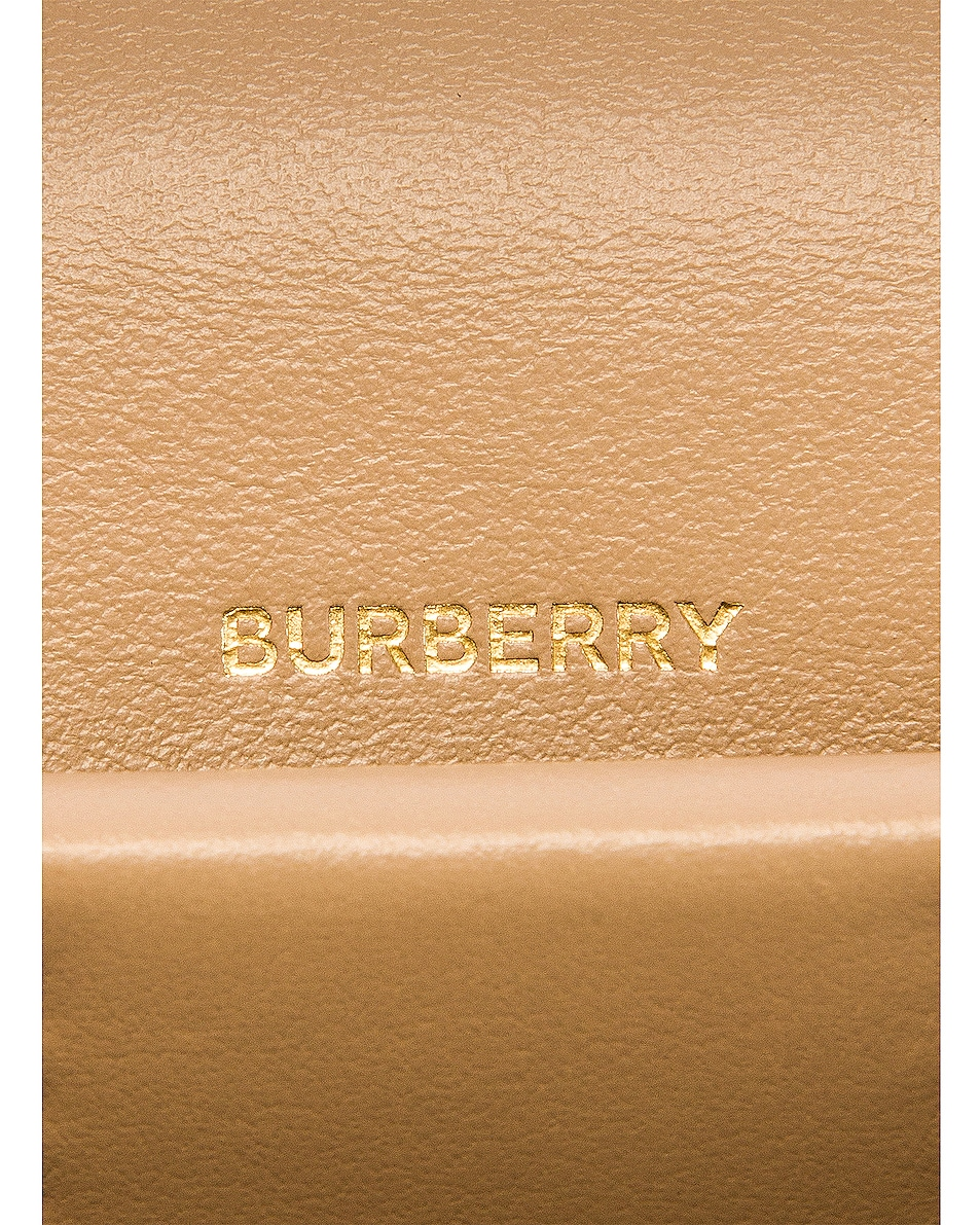 Image 7 of Burberry Jessie Card Case Crossbody Bag in Archive Beige