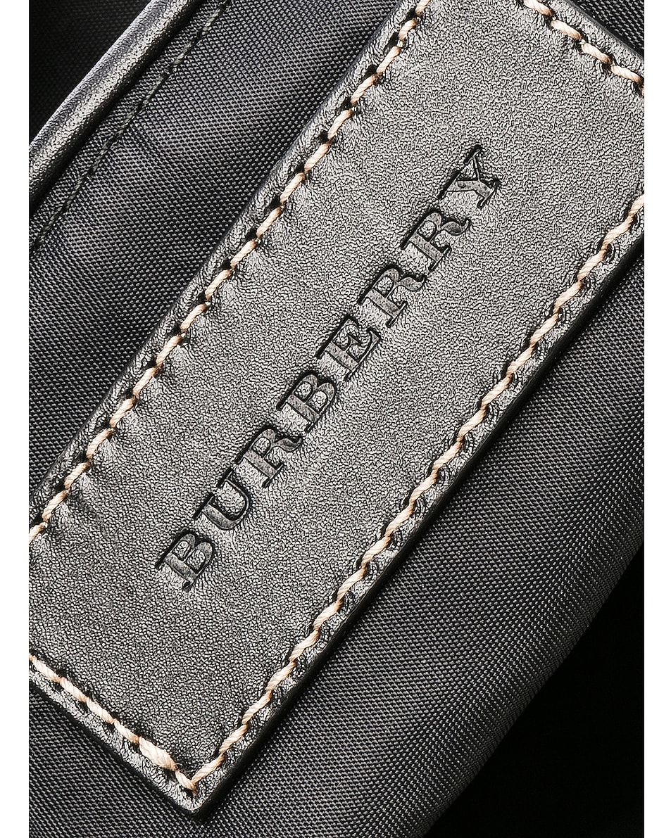 Image 6 of Burberry Small Vintage Check Backpack in Antique Yellow