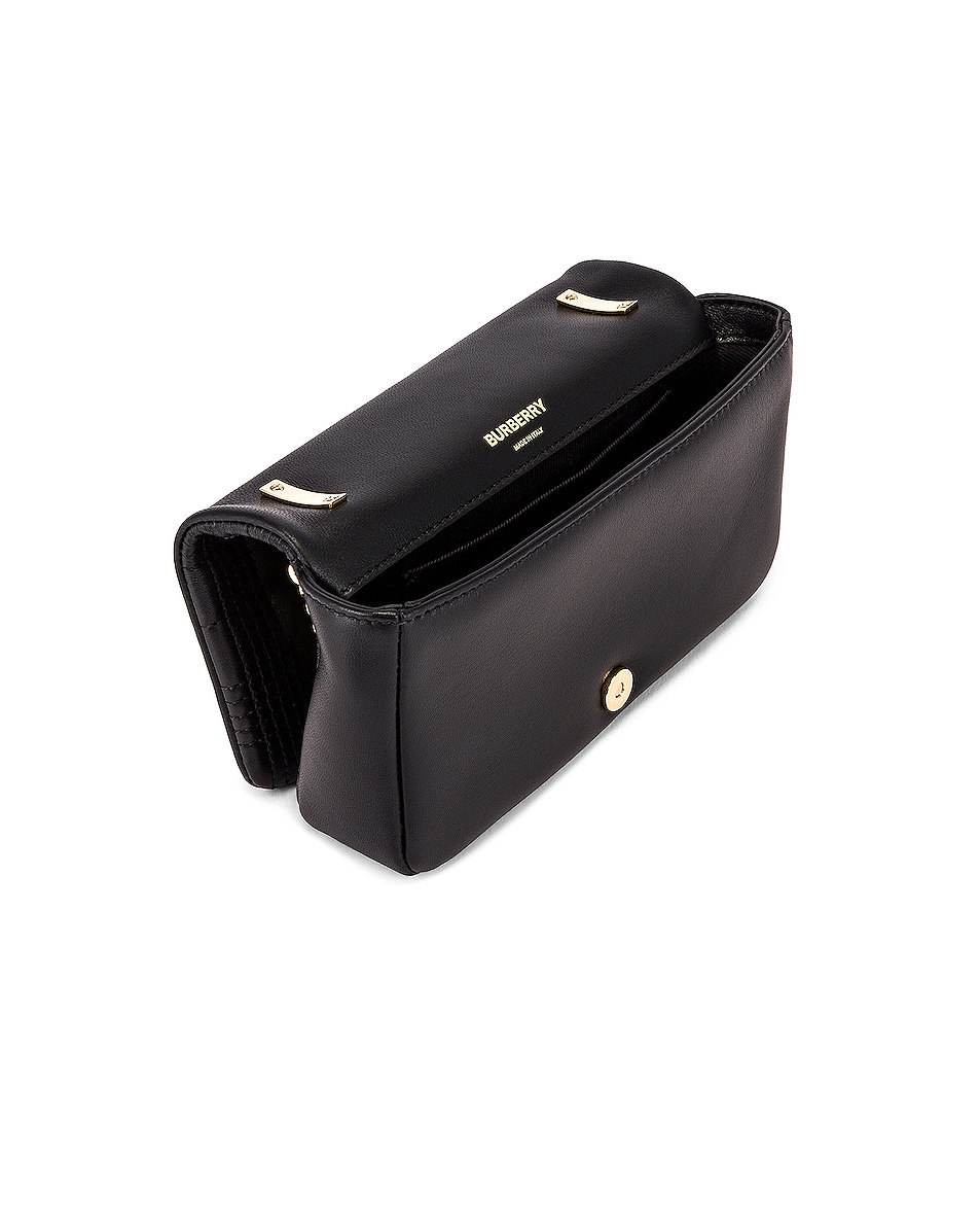 Image 5 of Burberry Monogram Lola Crossbody Bag in Black