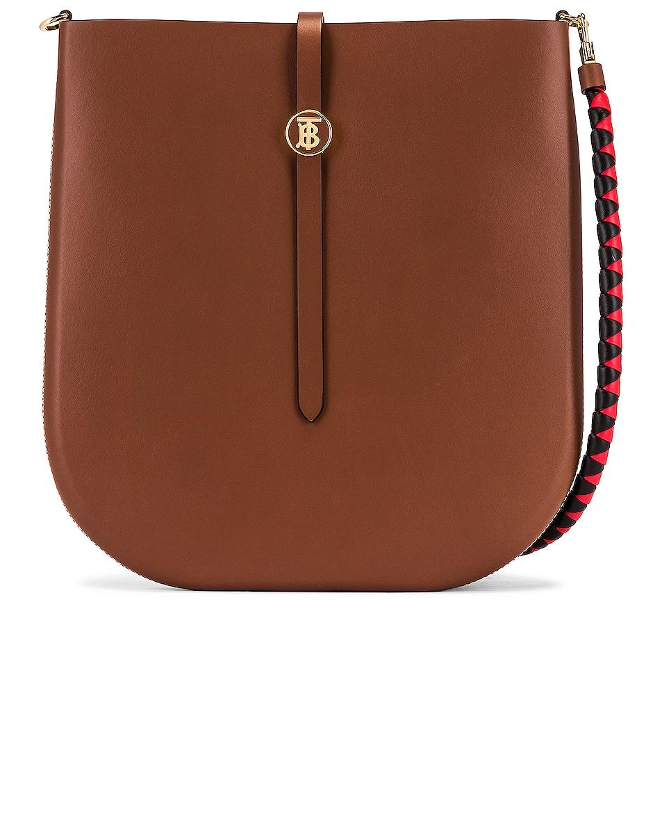 Image 1 of Burberry Medium Anne Hobo Bag in Tan