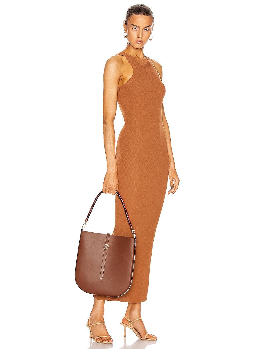 Image 2 of Burberry Medium Anne Hobo Bag in Tan