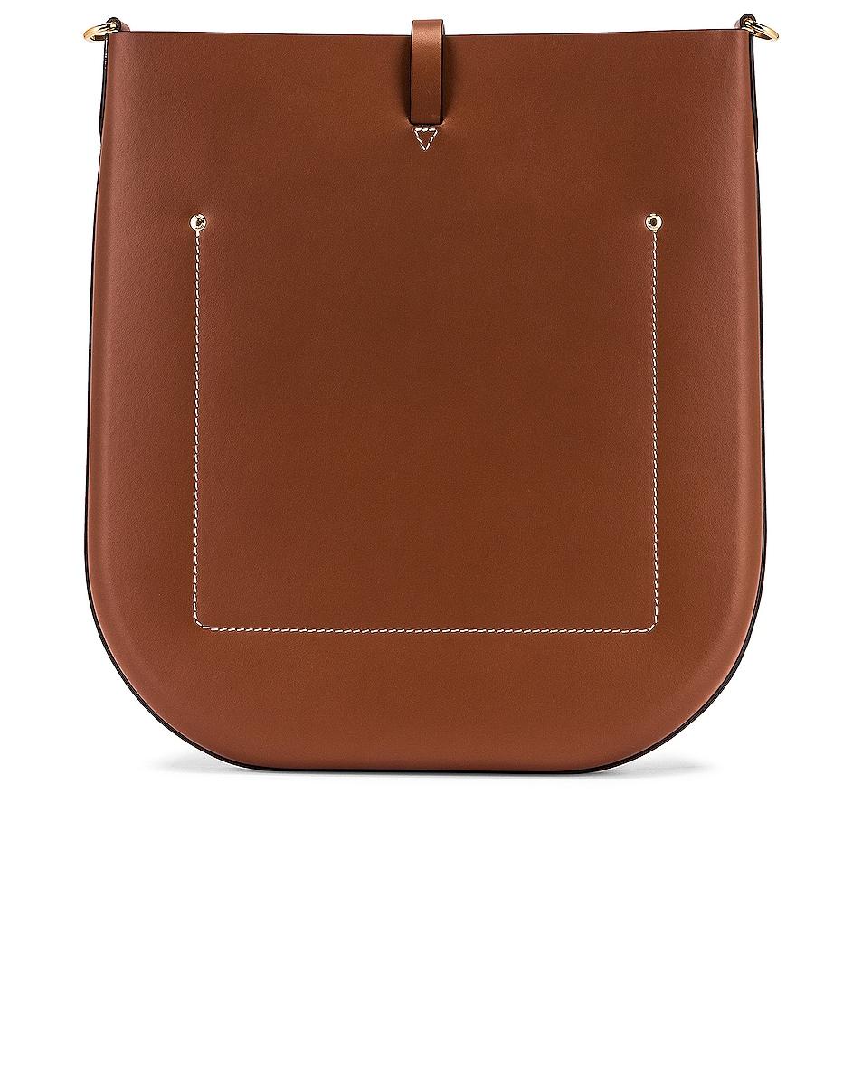 Image 3 of Burberry Medium Anne Hobo Bag in Tan