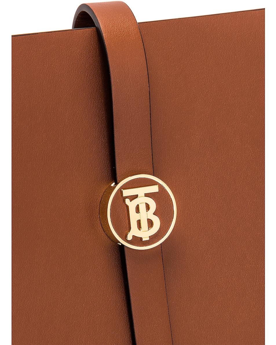 Image 8 of Burberry Medium Anne Hobo Bag in Tan