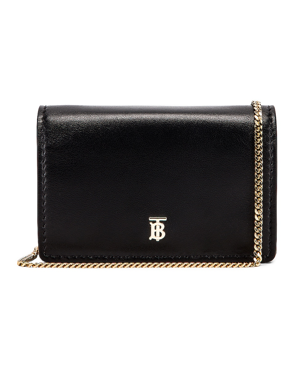 Image 1 of Burberry Jessie Crossbody Bag in Black