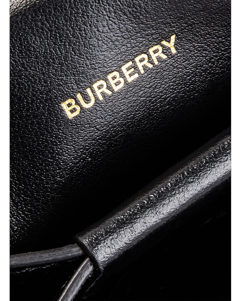 Image 7 of Burberry Jessie Crossbody Bag in Black