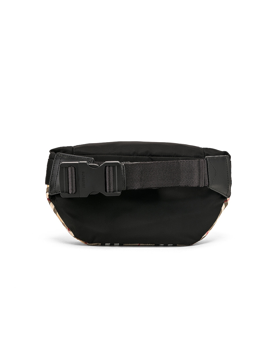 Image 3 of Burberry Sonny Fanny Pack in Archive Beige