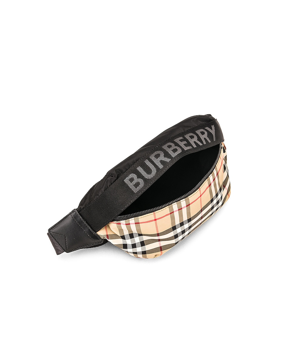 Image 5 of Burberry Sonny Fanny Pack in Archive Beige