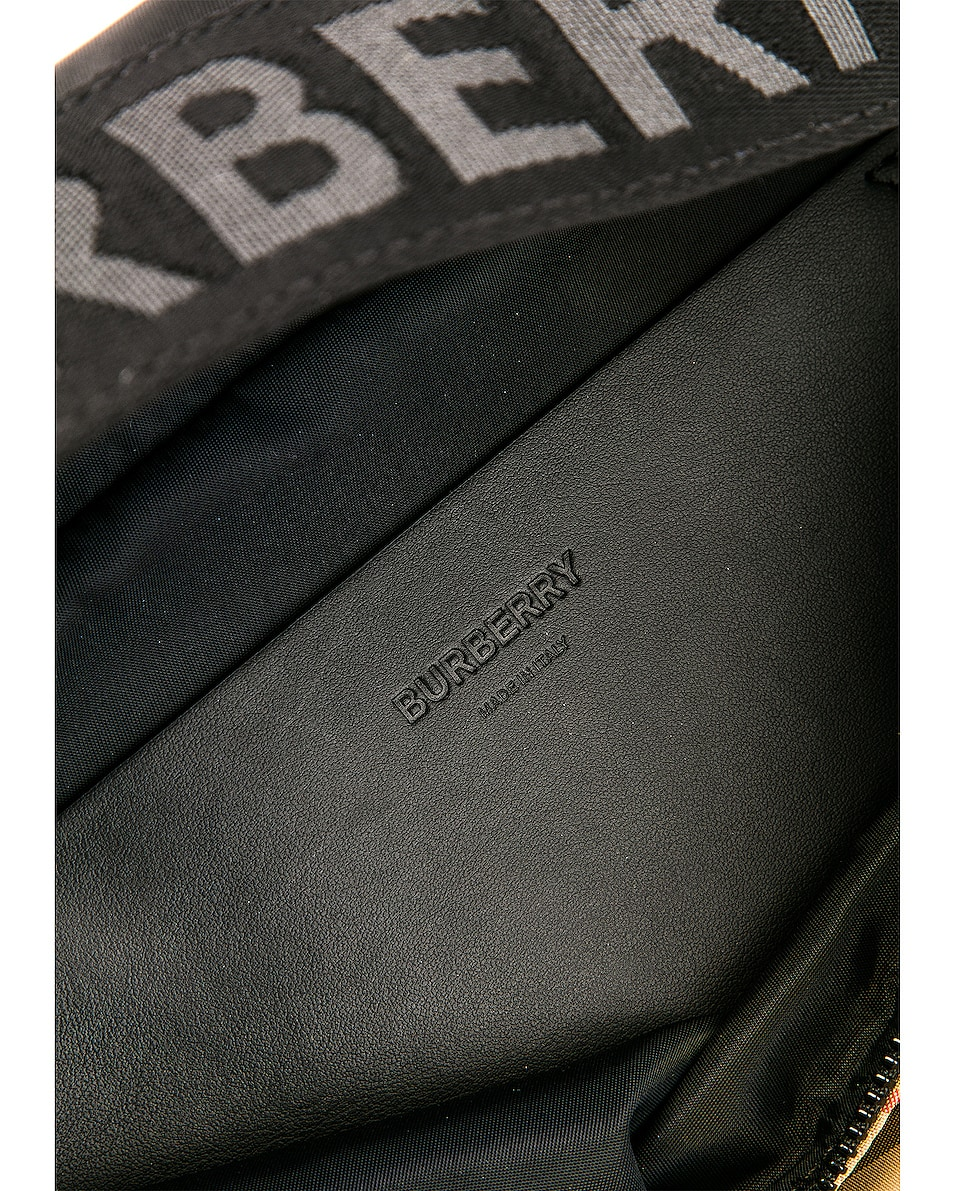 Image 6 of Burberry Sonny Fanny Pack in Archive Beige